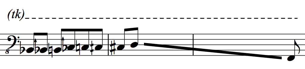 Microtones Staccato N